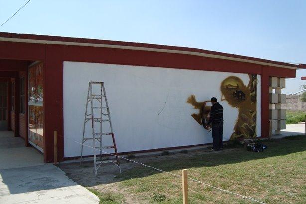 Grupo ilusorio mural prepa bicentenario 37 for Mural prepa 1 uaemex