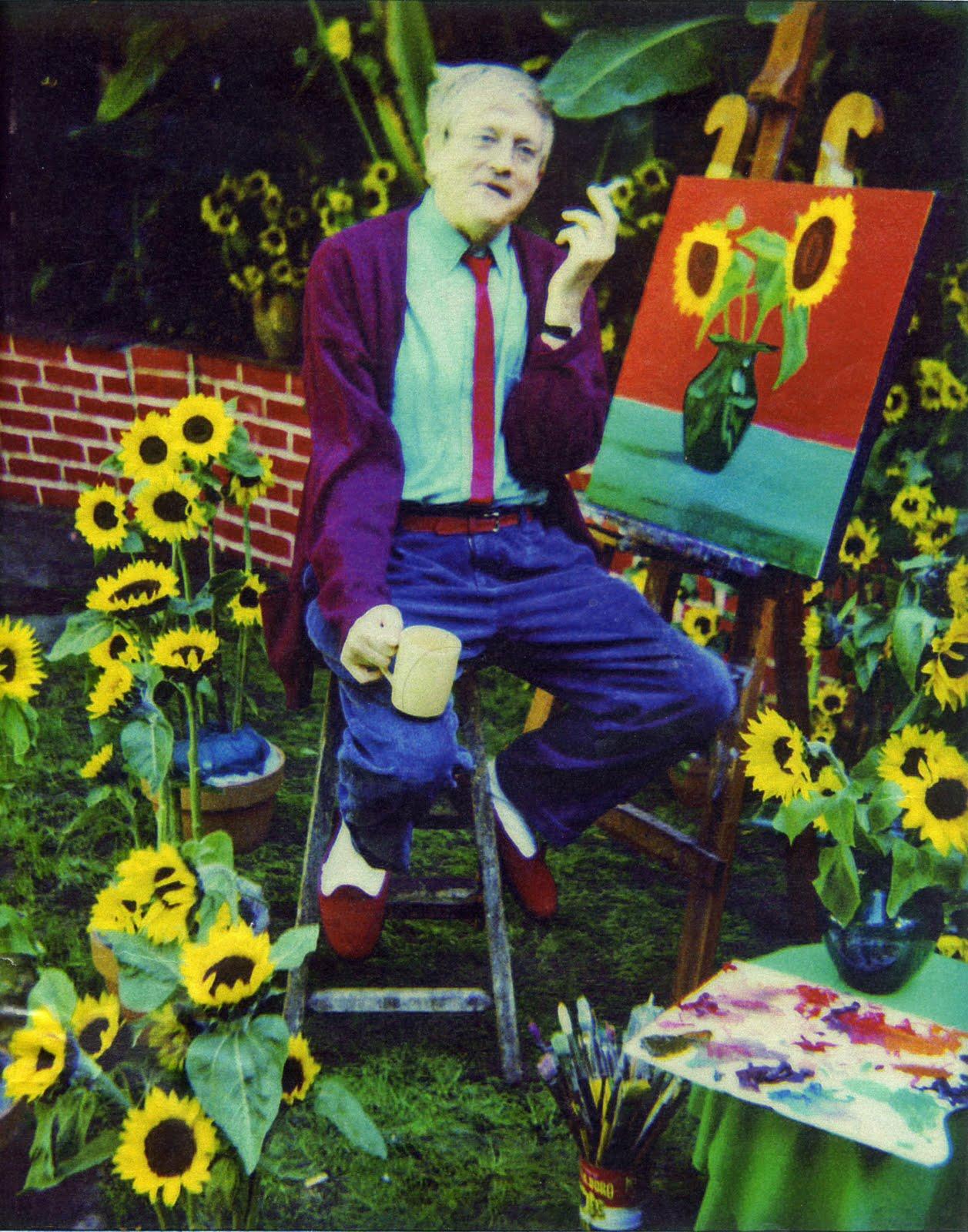 M i l k icon david hockney for David hockney painting