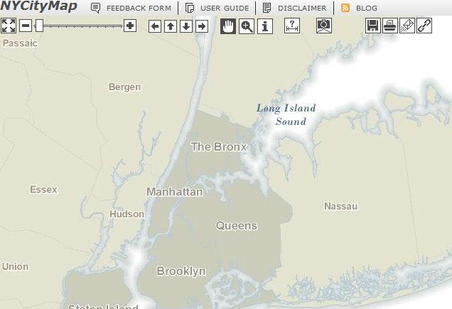 Doitt Nyc Map.New York History Geschichte Ny City Map