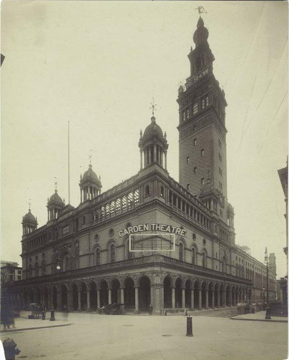 New York History Geschichte Madison Square Garden Automobile Parade 1899