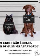 NÃO ABANDONE O SEU MELHOR AMIGO!!
