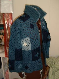 Free Crochet Granny Square Dog Sweater : GRANNY SQUARE SWEATER PATTERNS ? Browse Patterns