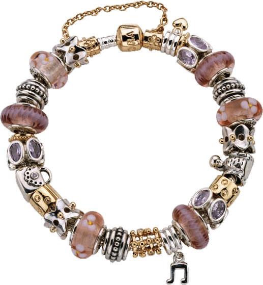 PANDORA Bracelets: Charm, Leather, Silver, Gold & More ...