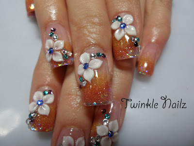 The Beauty and Latest of 3D Nail Art-1