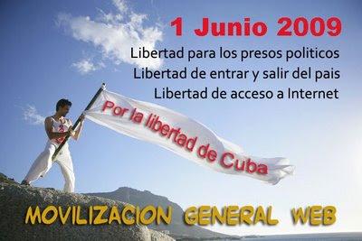 Por la Libertad de expresion en cuba