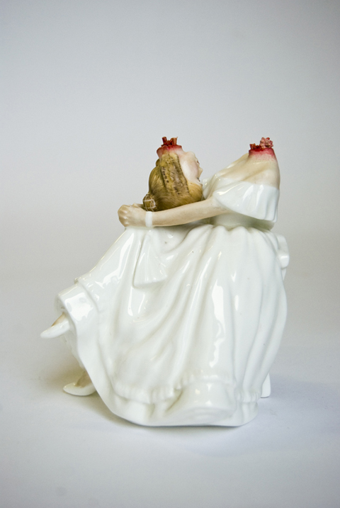 Twisted Ceramic Figurines Jessica Harrison