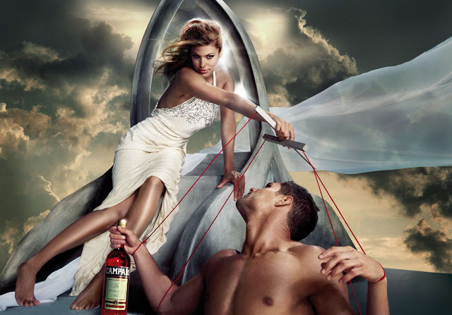 Eva Mendes Amazing Fairytale Photoshoot for Campari