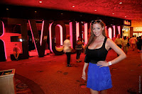 Jordan Carver in Celebrity Tour Moment Photoshoot Session at Las Vegas