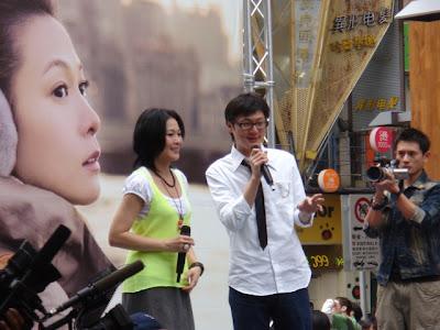 劉若英接受主持人 hit fm DJ的訪問