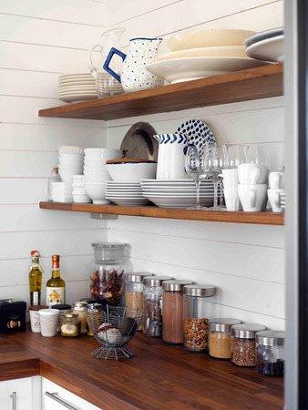 Open Shelf Kitchens