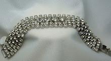 Wide Bling Bling Bracelet