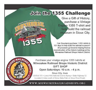 Milwaukee railroad shops historic district sioux city ia for Rainforest t shirt fundraiser