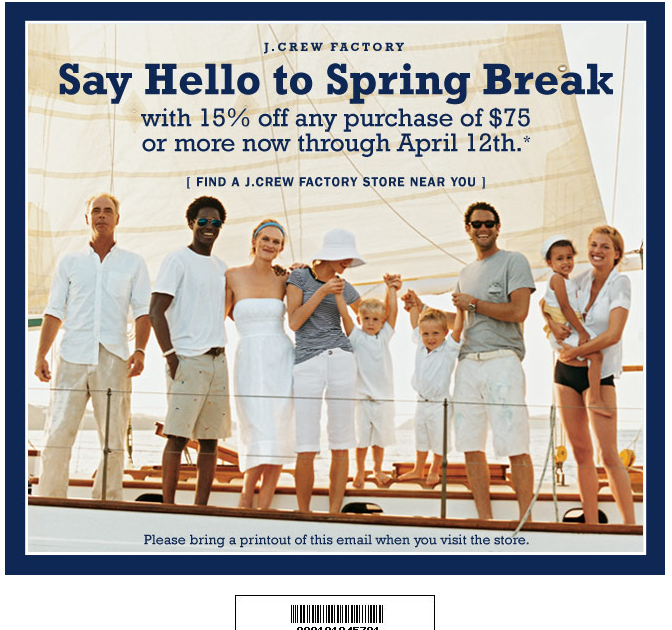 J crew in store coupon 2018