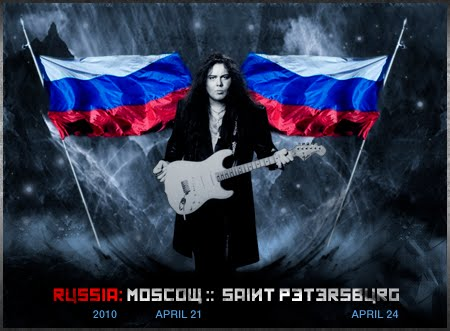Yngwie Malmsteen Russia