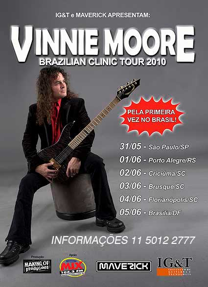 Vinnie Moore Brazilian Clinic Tour 2010