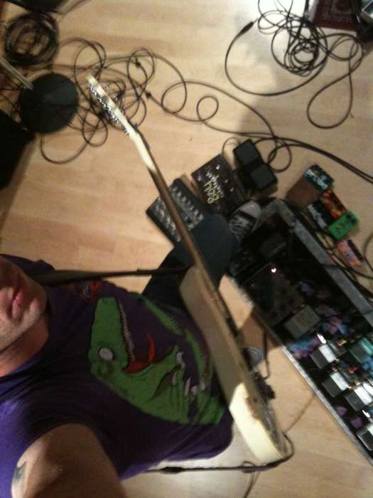 Wes Borland pedalboard