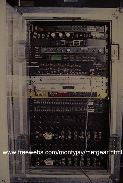 Kirk Hammett Gear