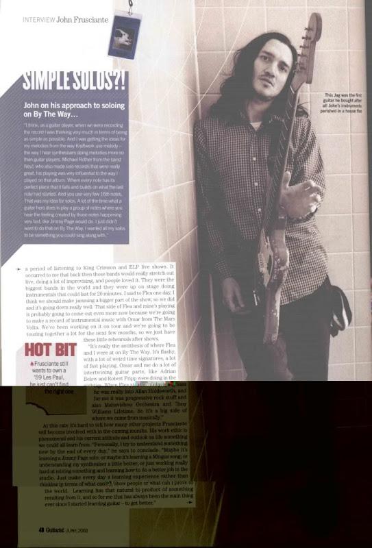 John Frusciante interview 2003