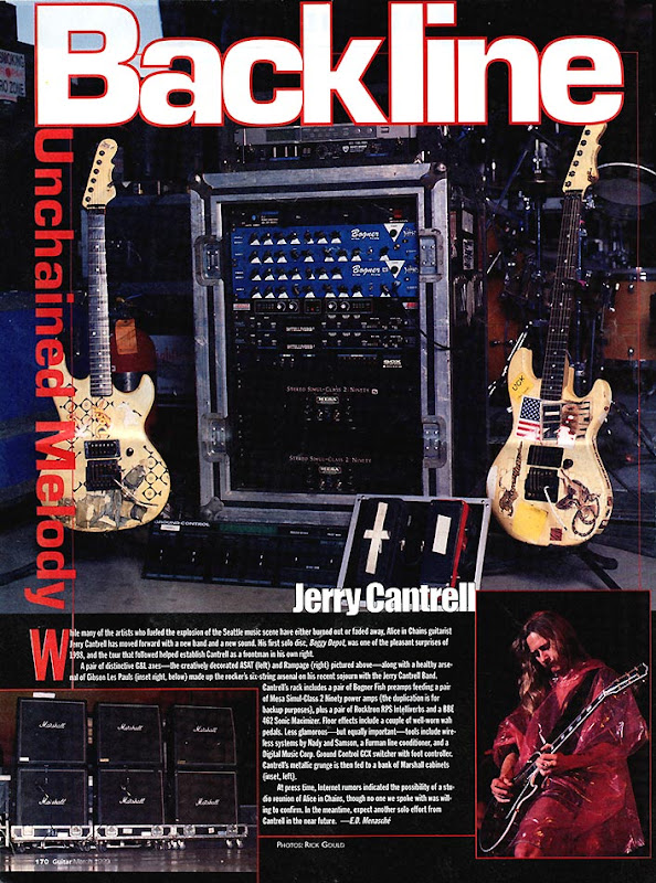 Jerry Cantrell Gear