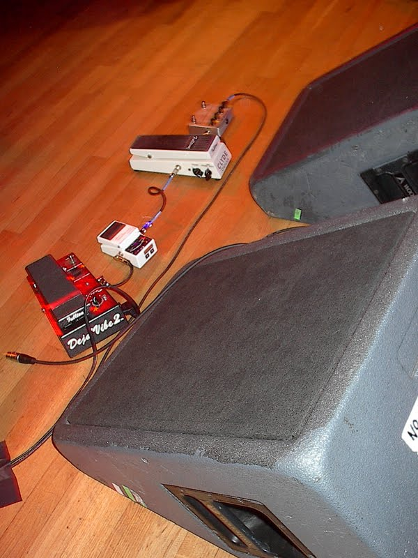 robin trower pedals