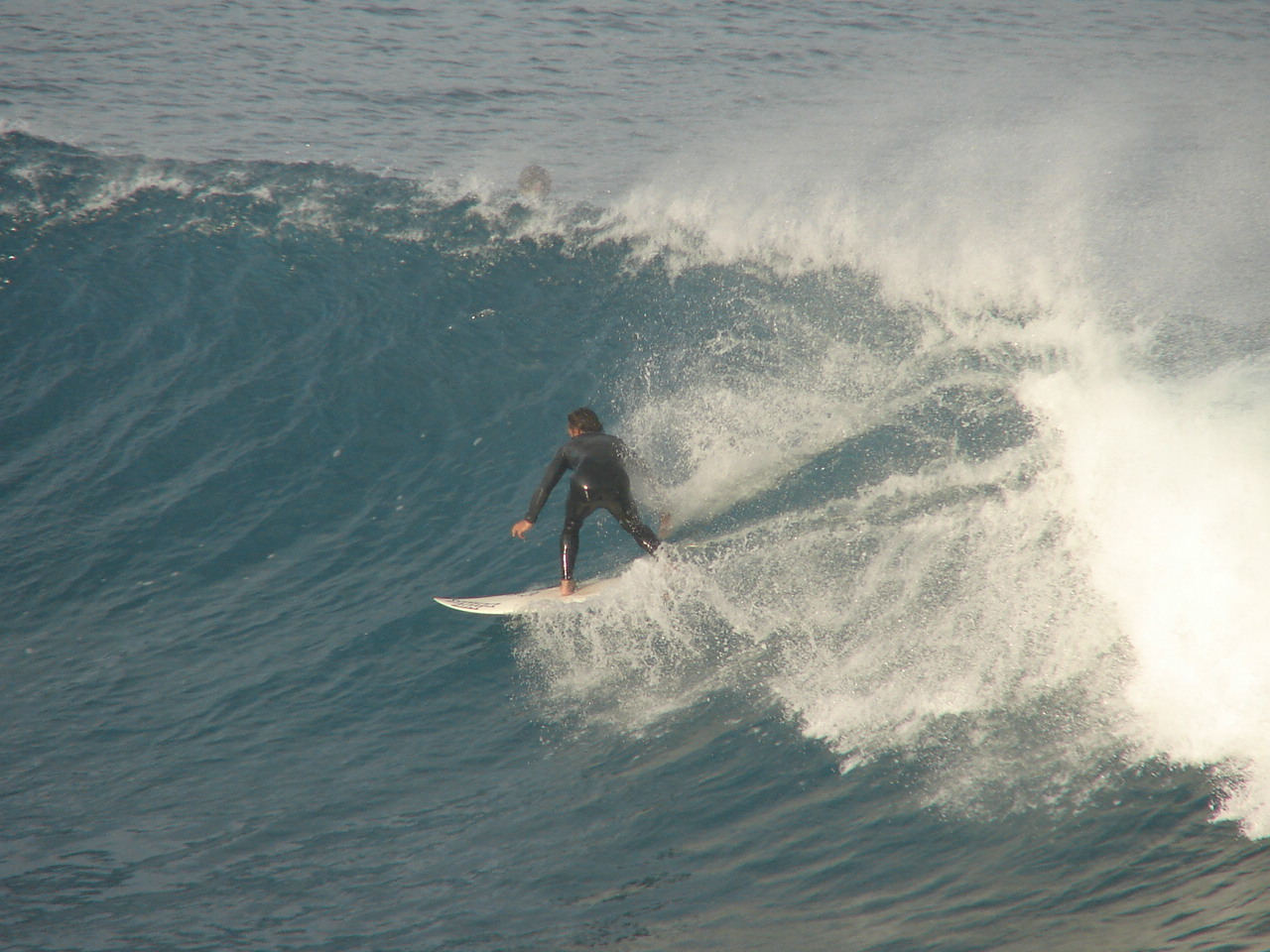 big wave surf bay report