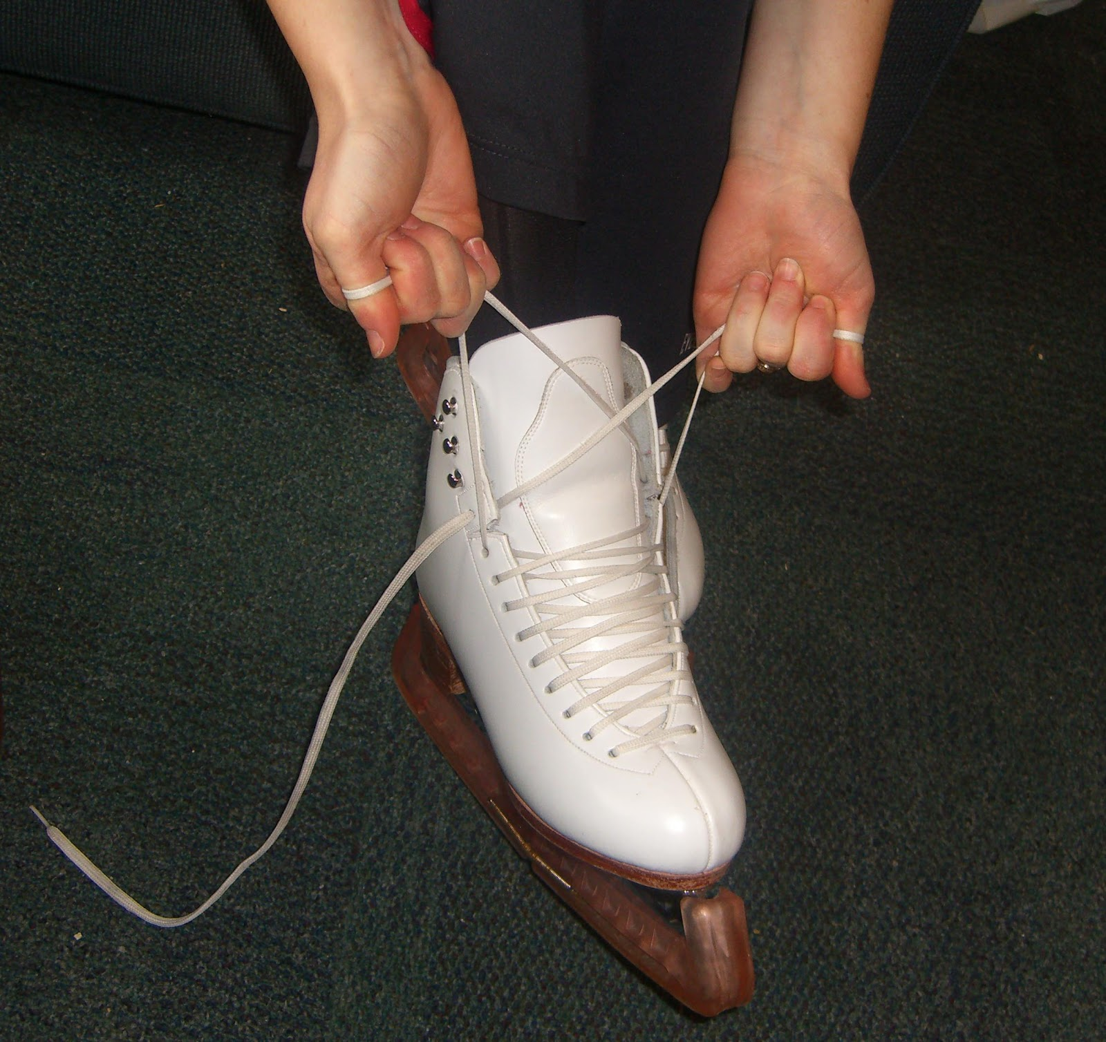 Skating Through Winter: A Guide To Ice Skates: Part 3: How To Tie Ice Skates
