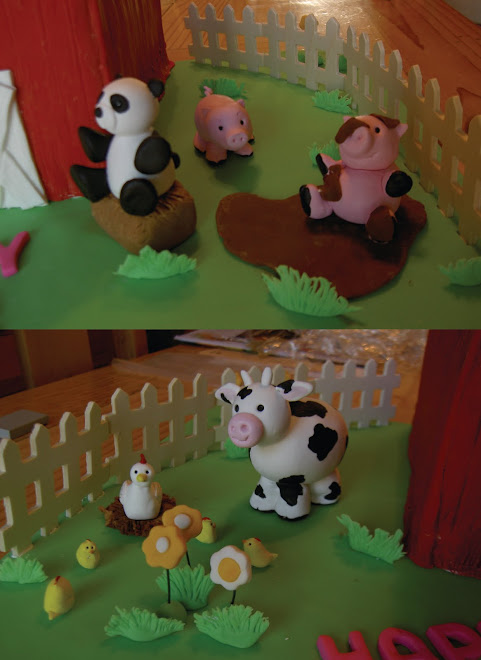 Barnyard farm animals
