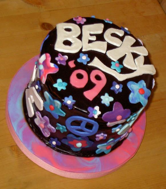 Becky's grad cake