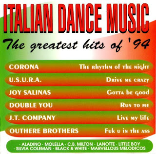 Various - Italian Dance Music: The Greatest Hits Of '94