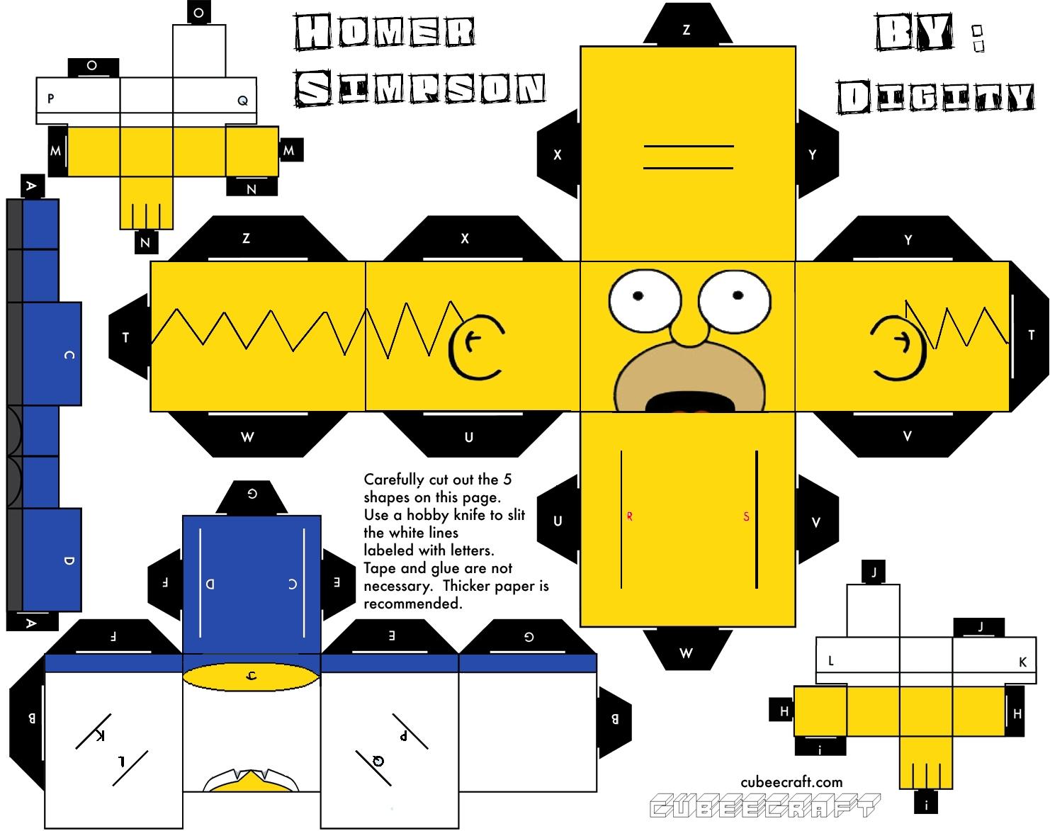 Homero PaperCraft