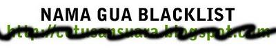 nama blacklist