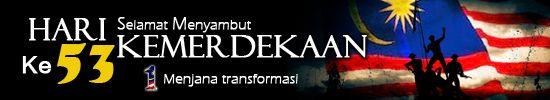 sambutan hari kemerdekaan yang ke 53 - 1malaysia menjana transformasi