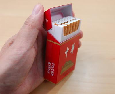 Handphone Unik Bungkus Rokok
