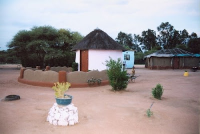 Tradition house in Mahalapye