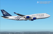 This is fictional repaint for Delta Airlines in SKYTEAM livery. (delta )