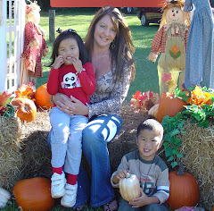 Peyton, Mommy and Spencer