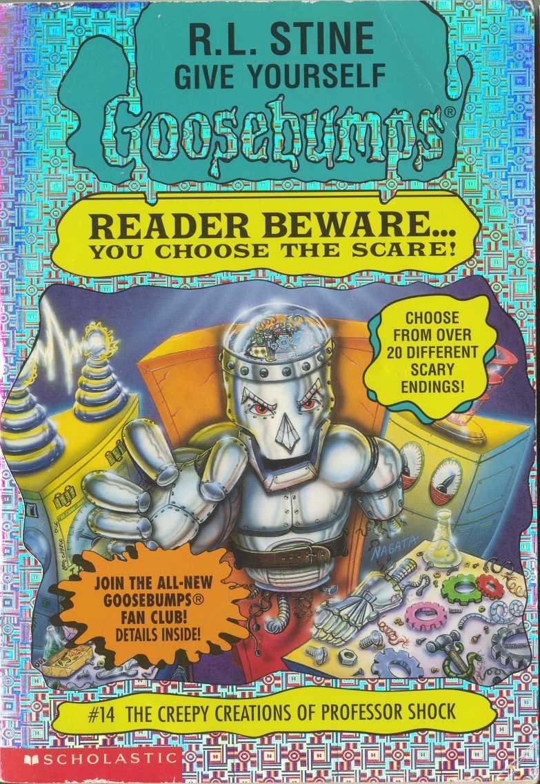 GOOSEBUMPS:READER BEWARE #5, #2,#10,#17,#0