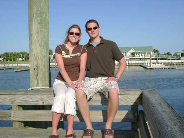 Us at Bald Head Island