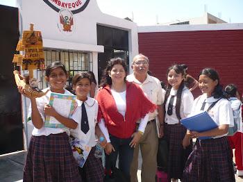 Saludos a las niñas de la E.I Sara A. Bullón, Lambayeque, Perú