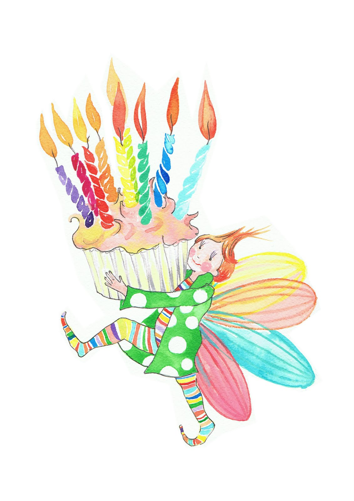 Harriette conway cupcake fairy for How to make fairy cupcakes
