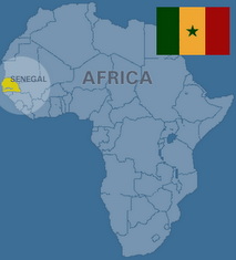 Where in the world is Senegal?