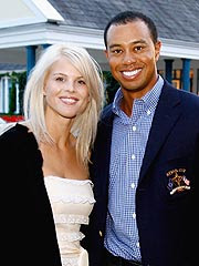 Tiger Woods and his wife