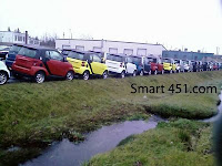 Smart Car's at Dock