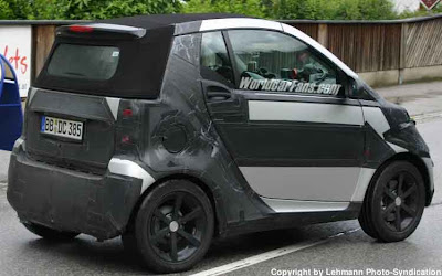 Spy Photo of the New 451 Smart