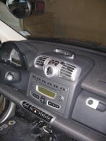 GPS Cradle on Dash
