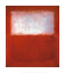 Blanco sobre rojo - Mark Rothko
