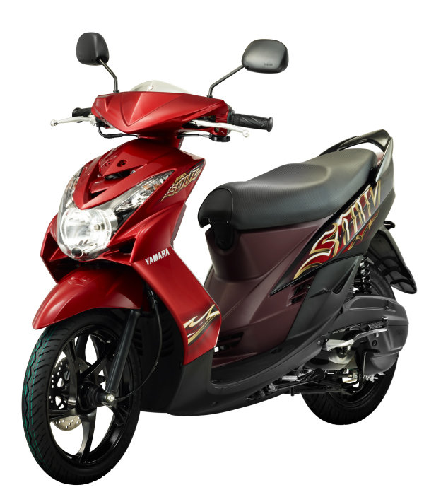 Modifikasi Motor Matic Yamaha Mio Soul