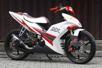 Foto Modifikasi Motor Yamaha Jupiter Mx