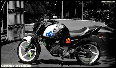 Foto-foto Modifikasi Motor Yamaha Byson (Simple Tapi Keren) infoinfo unik Foto-foto Modifikasi Motor Yamaha Byson (Simple Tapi Keren)