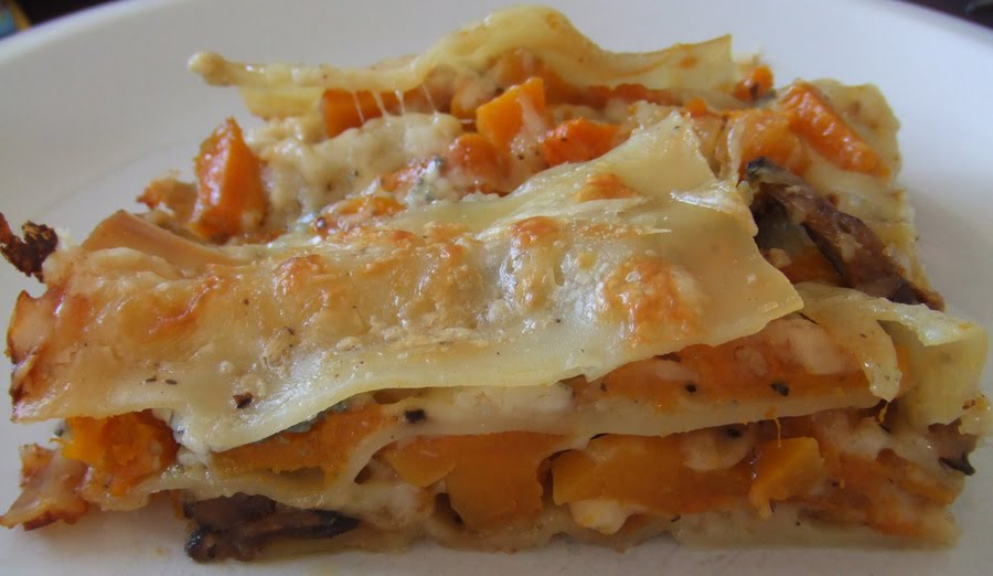 roasted butternut squash lasagna roast butternut squash lasagne recipe ...